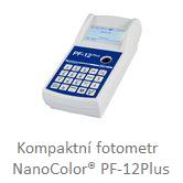 Kompaktní fotometr NanoColor® PF-12Plus